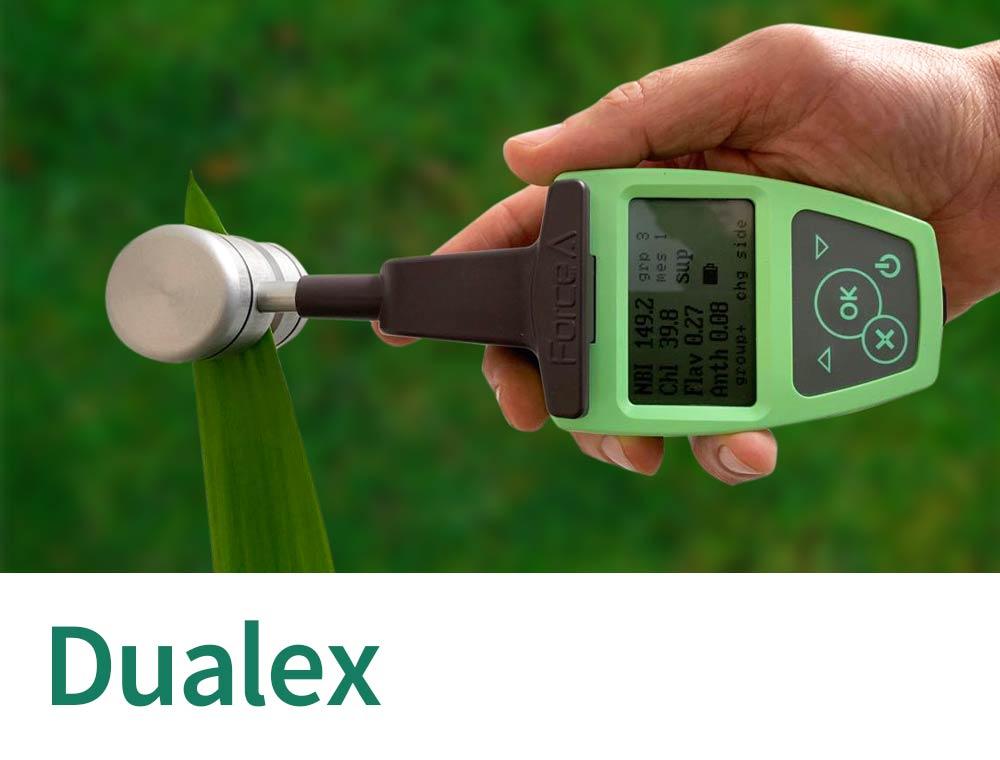Dualex Leafclip Sensor for chlorophyll and polyphenols
