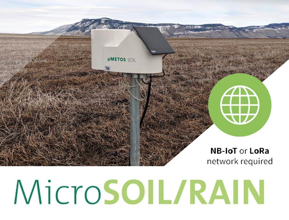 MicroSOIL/RAIN METOS Canada package