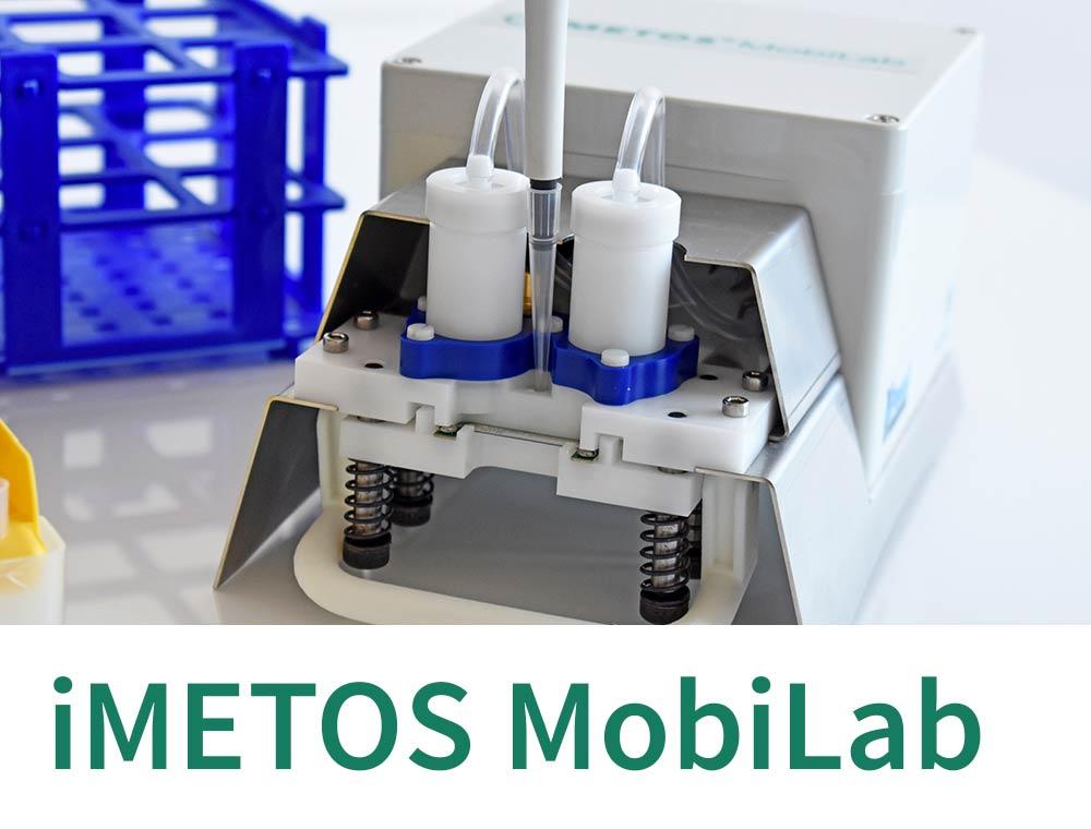 iMETOS MobiLab farm soil sap testing mobile lab