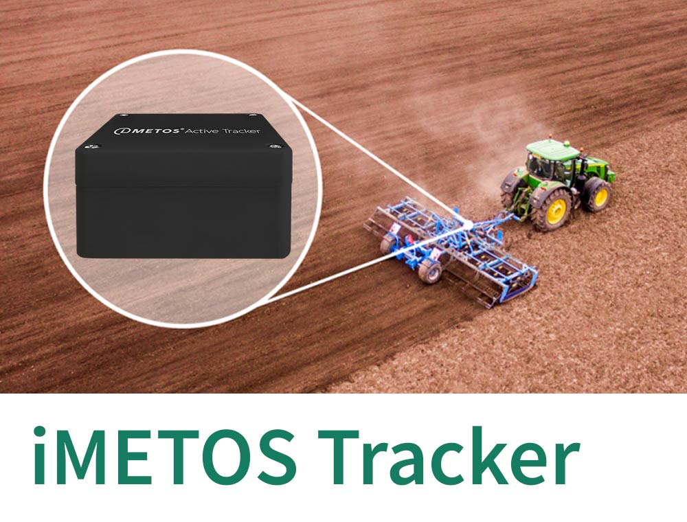 iMETOS Trackers for tracking devices for farm equipment